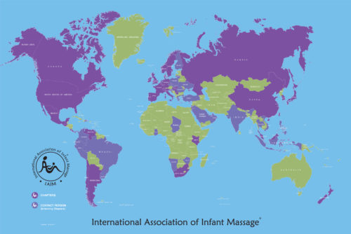 The IAIM has chapters and contact people around the world. In the map above, deep purple shows countries that have registered chapters, and light purple shows countries that have contact persons. See detailed list below.